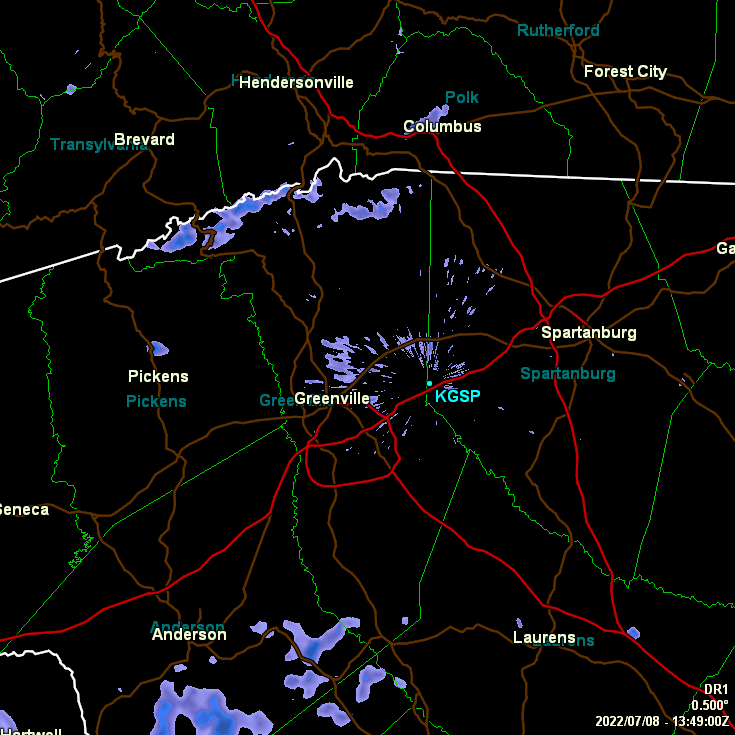 Current NWS Radar.